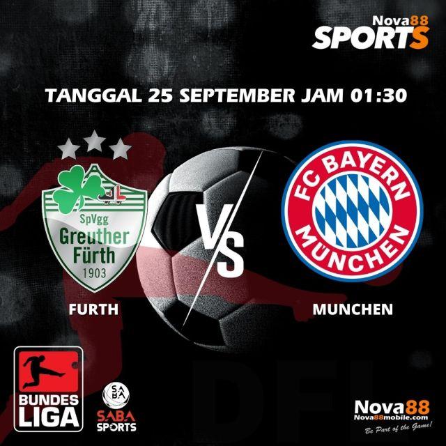 Prediksi Bola Furth VS Bayern Munchen - Nova88 Sports