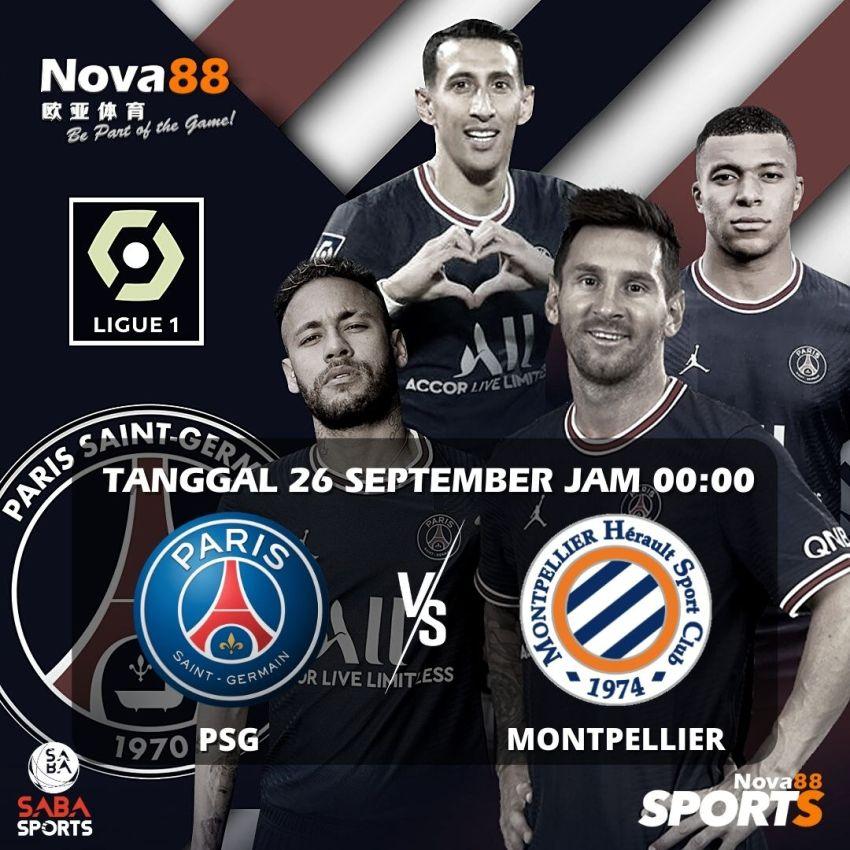 Prediksi Bola PSG VS MONTPELLIER - Nova88 Sports
