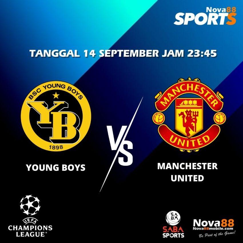 Prediksi Bola Young Boys VS Manchester United - Nova88 Sports
