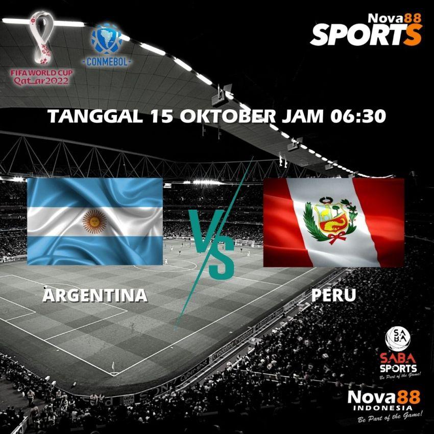 Prediksi Bola Argentina VS Peru - Nova88 Sports