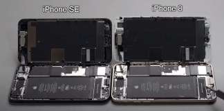 Teardown Video Compares New iPhone SE to iPhone 8