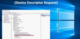 How To Fix Device Descriptor Request Failed (Unknown USB Device) In Windows 10
