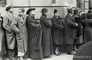 1936 Votants al carrer de Casp