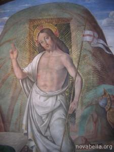 Cagli_-_Cappella_Tiranni_-_Cristo_risorto_-