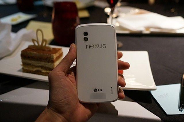 Beyaz LG Nexus 4