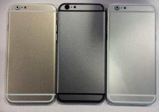 iPhone 6 ve üç farklı renk seçeneği