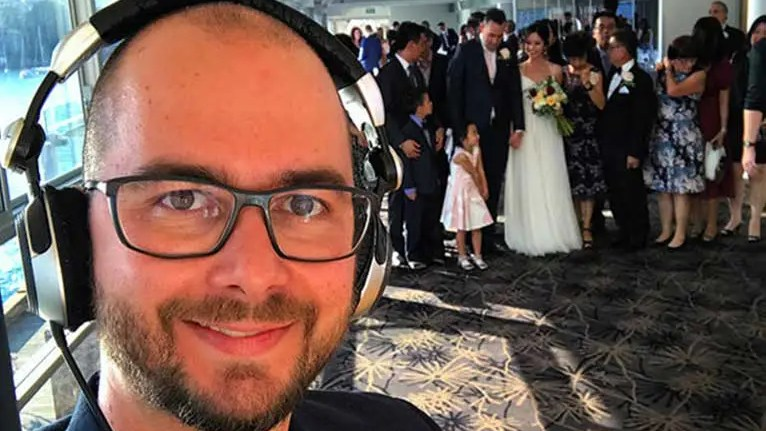 The weight of a DJ in a Wedding Reception