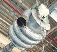 garage exhaust indoor fume control