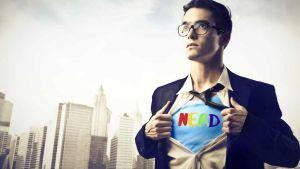 Supereroe nerd