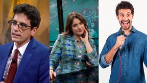 comici italiani: Valerio Lundini, Michela Giraud, Edoardo Ferrario