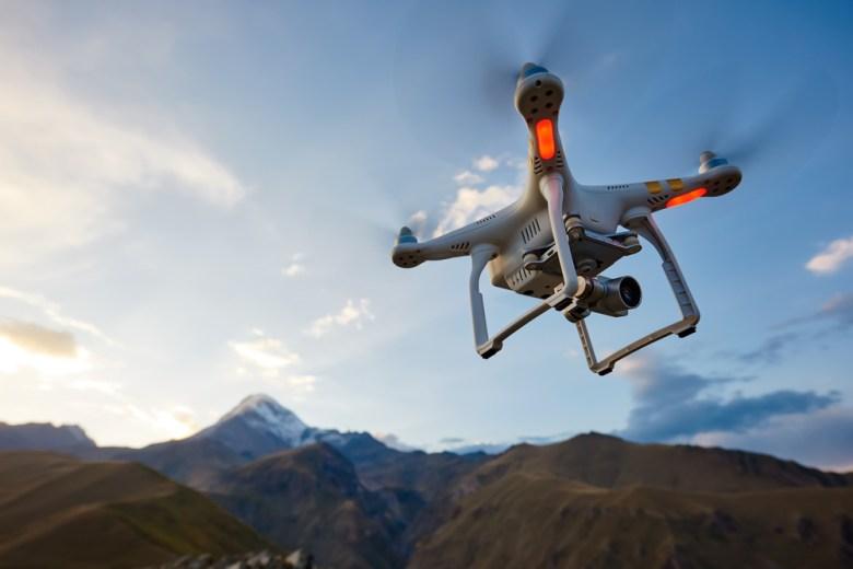 dron - prezent na komunię dla dziecka