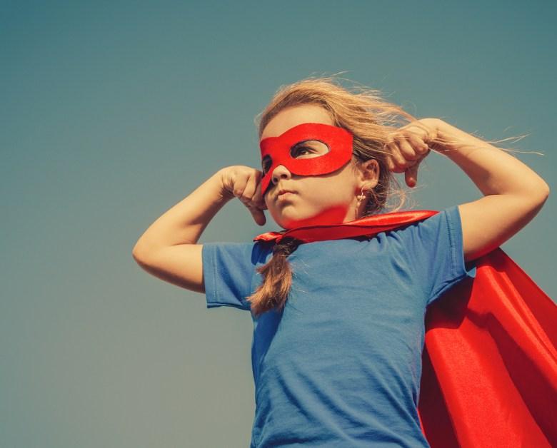 Kostium superbohatera na Halloween