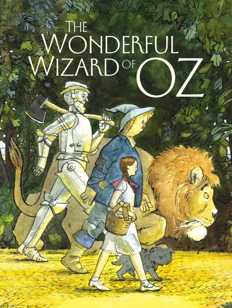 książki dla dzieci po angielsku–The Wonderful Wizard of Oz