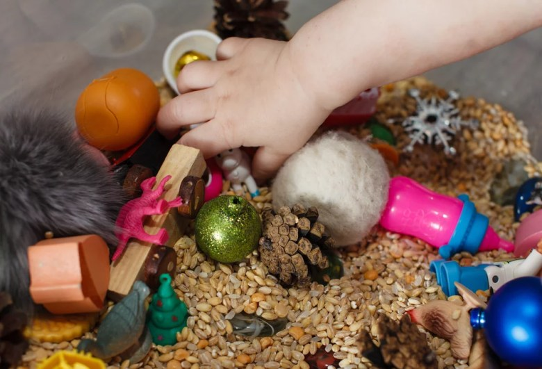 zabawy sensoryczne dla dzieci