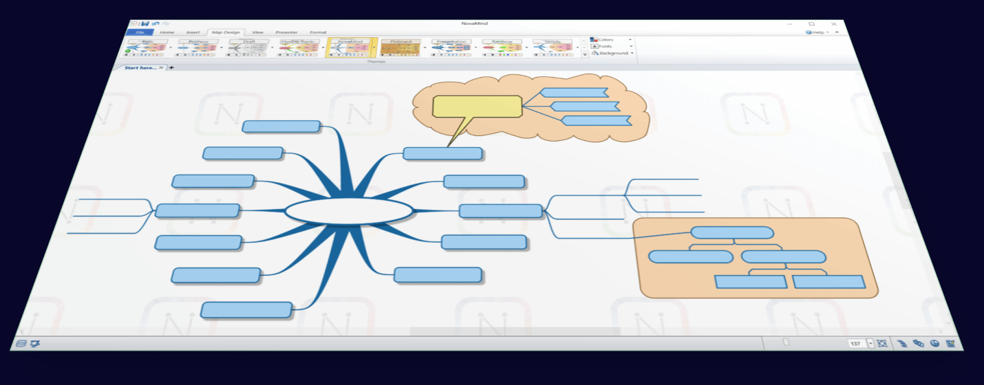 Online Concept Map Generator.Novamind Mind Mapping And Visual Thinking Tool