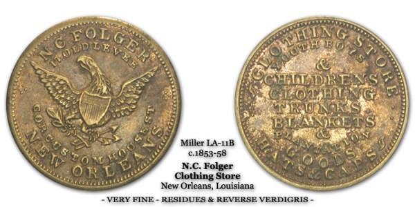 Miller LA-11B N.C. Folger