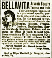 """Bella Vita"" Beautiful Life - Poisonous Arsenic Beauty"