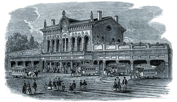 Third Avenue Depot City Railroads