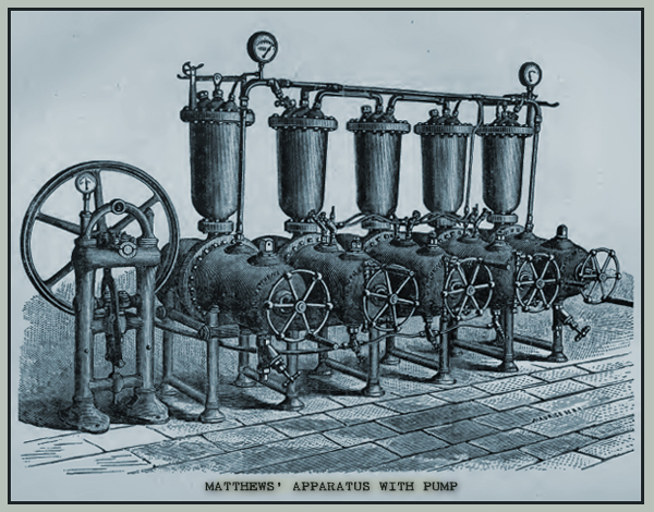 Matthews' Apparatus with Pump