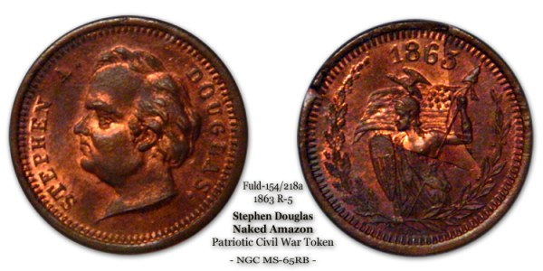 Fuld 154 218 Civil War Patriotic Stephen Douglas Mossin & Marr Amazon