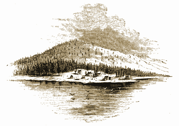 'Copper Harbor,' Harper's New Monthly Magazine, Volume 6, March 1853