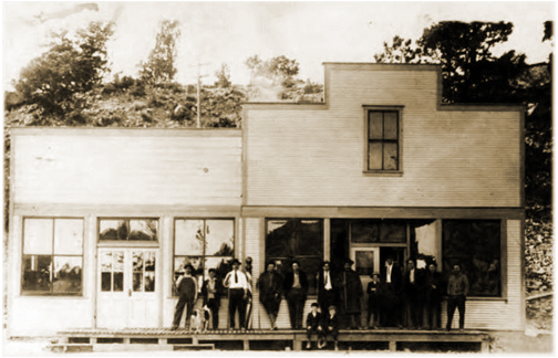 Hiawatha Utah Pool Hall Fruits Candies & Cigars early 20th century