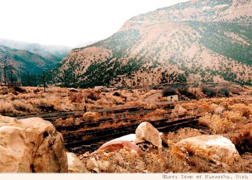 Carbon Coal and Coke Company Hiawatha Utah Miners Modern Day Ghost Town