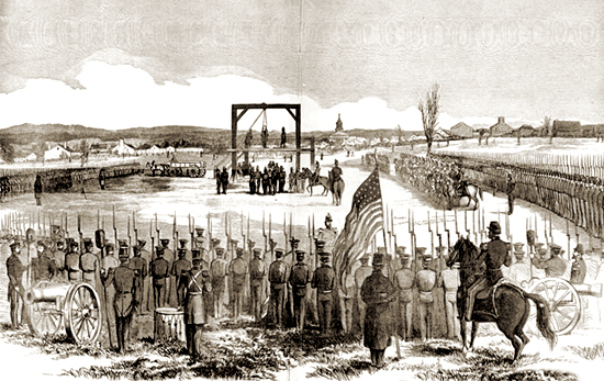 John Brown Abolitionist Execution