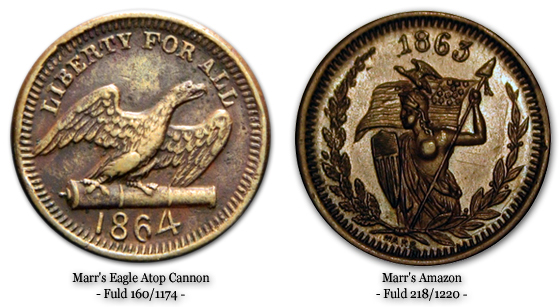 Marr's Eagle Atop Cannon and Marr's Amazon