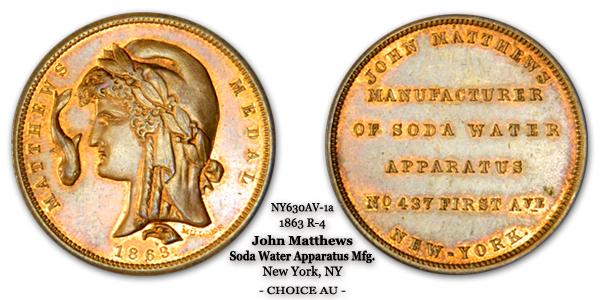 Fuld NY630AV-1a John Matthews Soda Water Apparatus