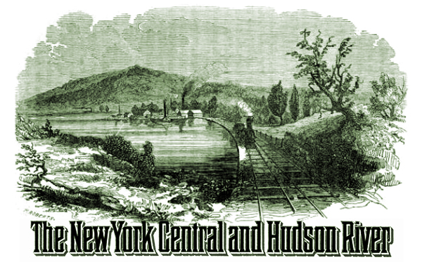 New York Central Railroad Company Vignette