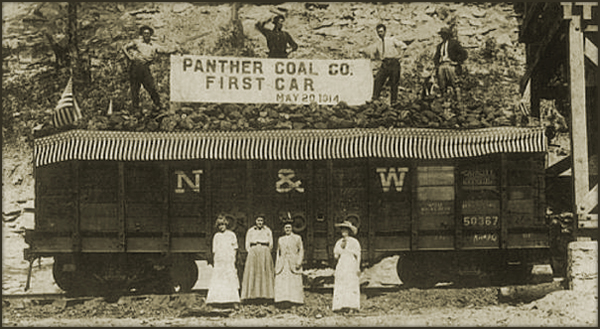 Panther Coal Company First Rail Car