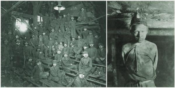 Trapper Boys, some alleged to be younger than 14 years old, were commonly employed in the mines at the time.