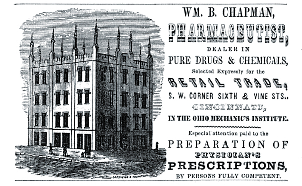 William B. Chapman Pharmaceutist
