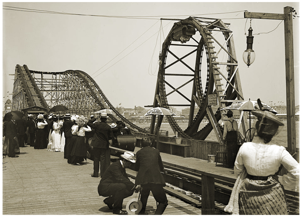 Young's Flip-Flap Railroad, Looping the Loop circa 1902