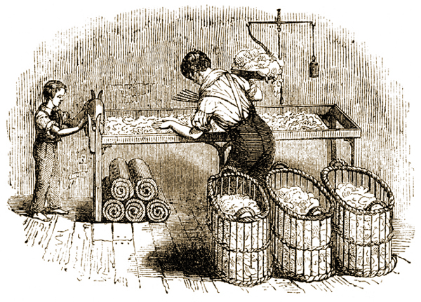 Child Labor in Cotton Mill