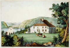 Newburgh NY on the Hudson, c.1780