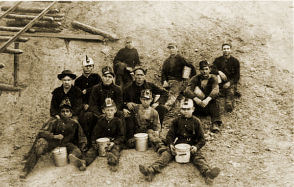 Child Miners in Thurber Texas