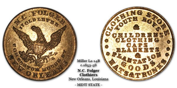Miller LA-14B N.C. Folger