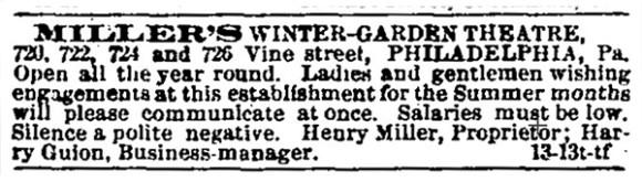 The New York Clipper, June 19th, 1880