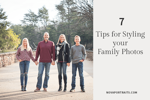 7 Tips For What To Wear To Your Family Photo Session
