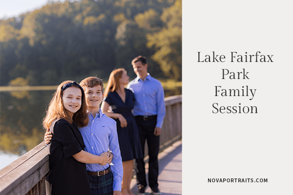 Lake Fairfax Park Family Session| Northern VA Family Photography