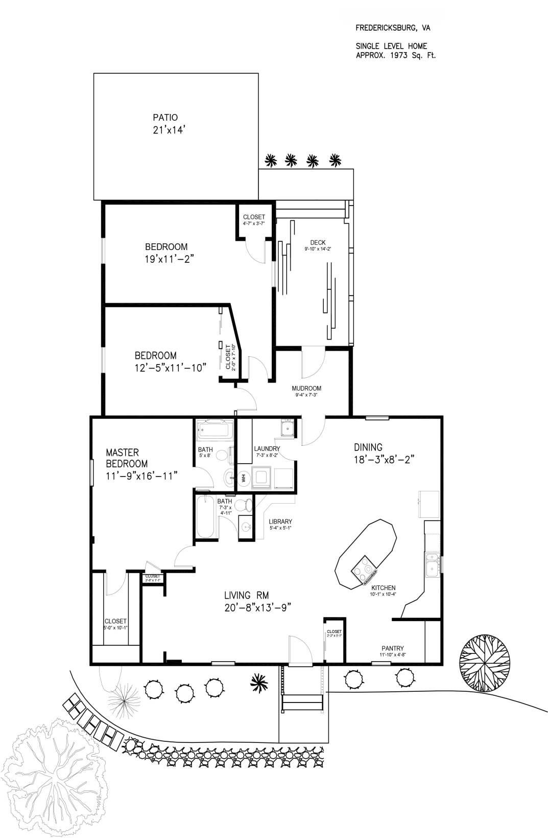 Floor Plan - Northern Virginia Real Estate Photography