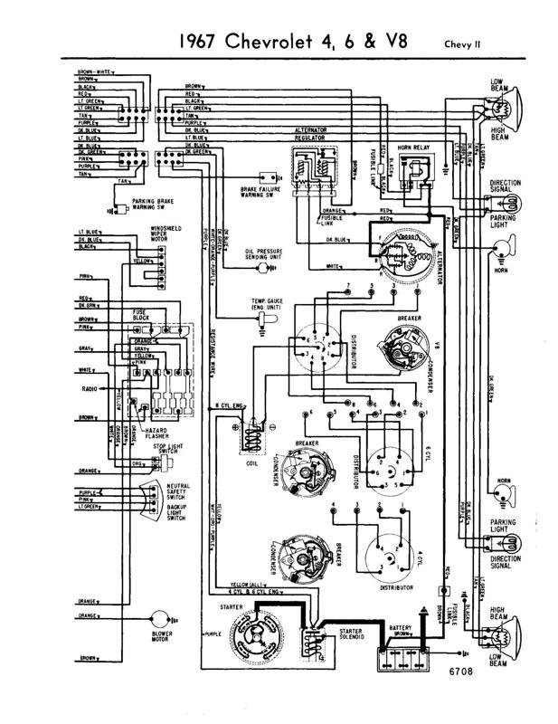 Universal Turn Signal Switch Diagram