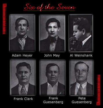 Six of the Seven Victims