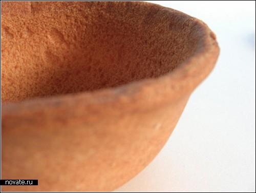 Съедобная посуда от Нобухико Арикавы (Nobuhiko Arikawa)