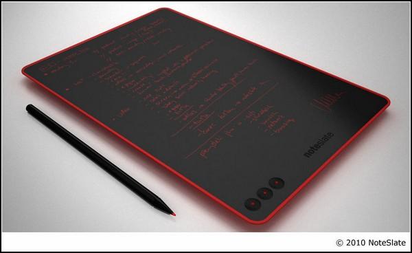 Электронный блокнот NoteSlate: красный