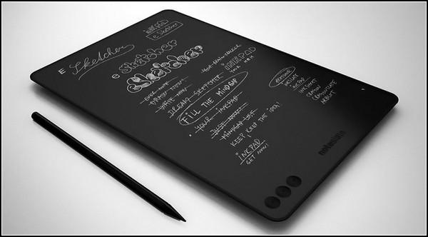 Электронный блокнот NoteSlate: черный