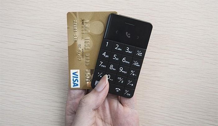 Talkase – запасной мобильный телефон размером с кредитную карту