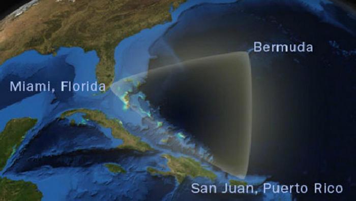 Бермудский треугольник: Майами, Пуэрто-Рико, Бермуды.